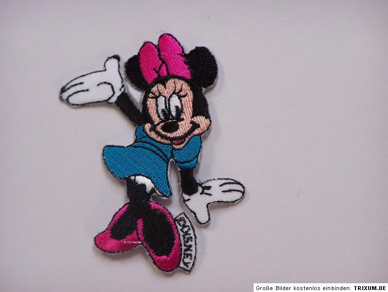 mickey minnie mouse b gelbild aufn her flicken hose ebay. Black Bedroom Furniture Sets. Home Design Ideas