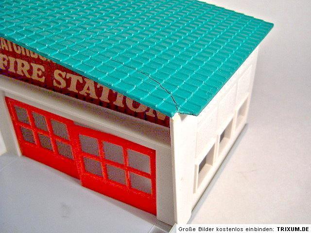 matchbox fire station mf 1 seltenes gr nes dach in box ebay. Black Bedroom Furniture Sets. Home Design Ideas